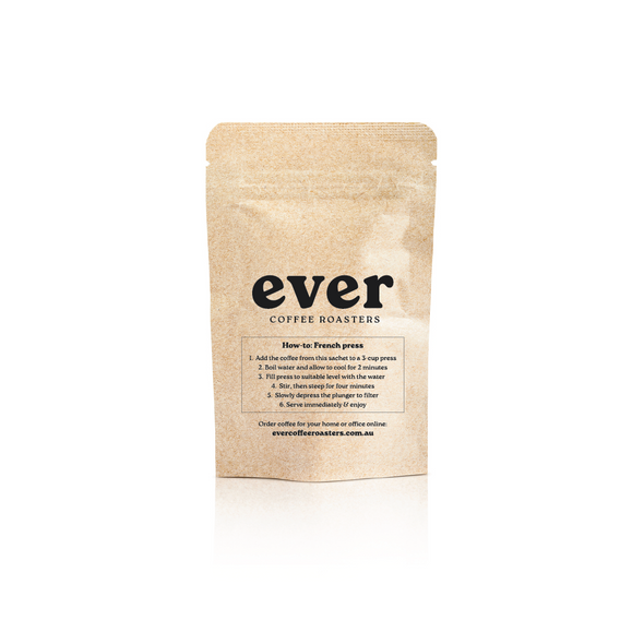 Ever: Hotel / Airbnb French Press Packs (Bulk)