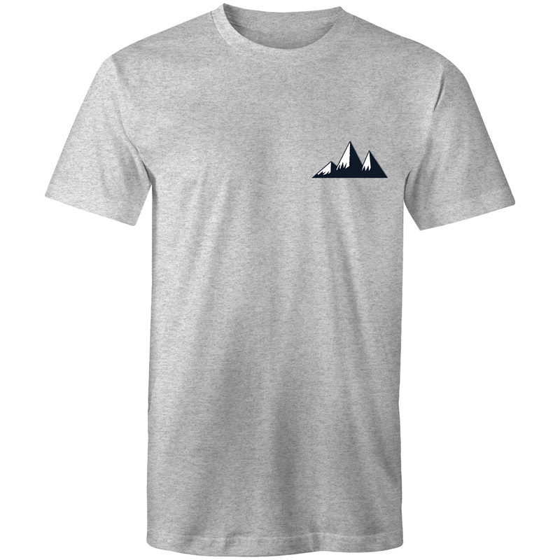 Mountains Pocket Design Mens T-Shirt - The Simple Selection