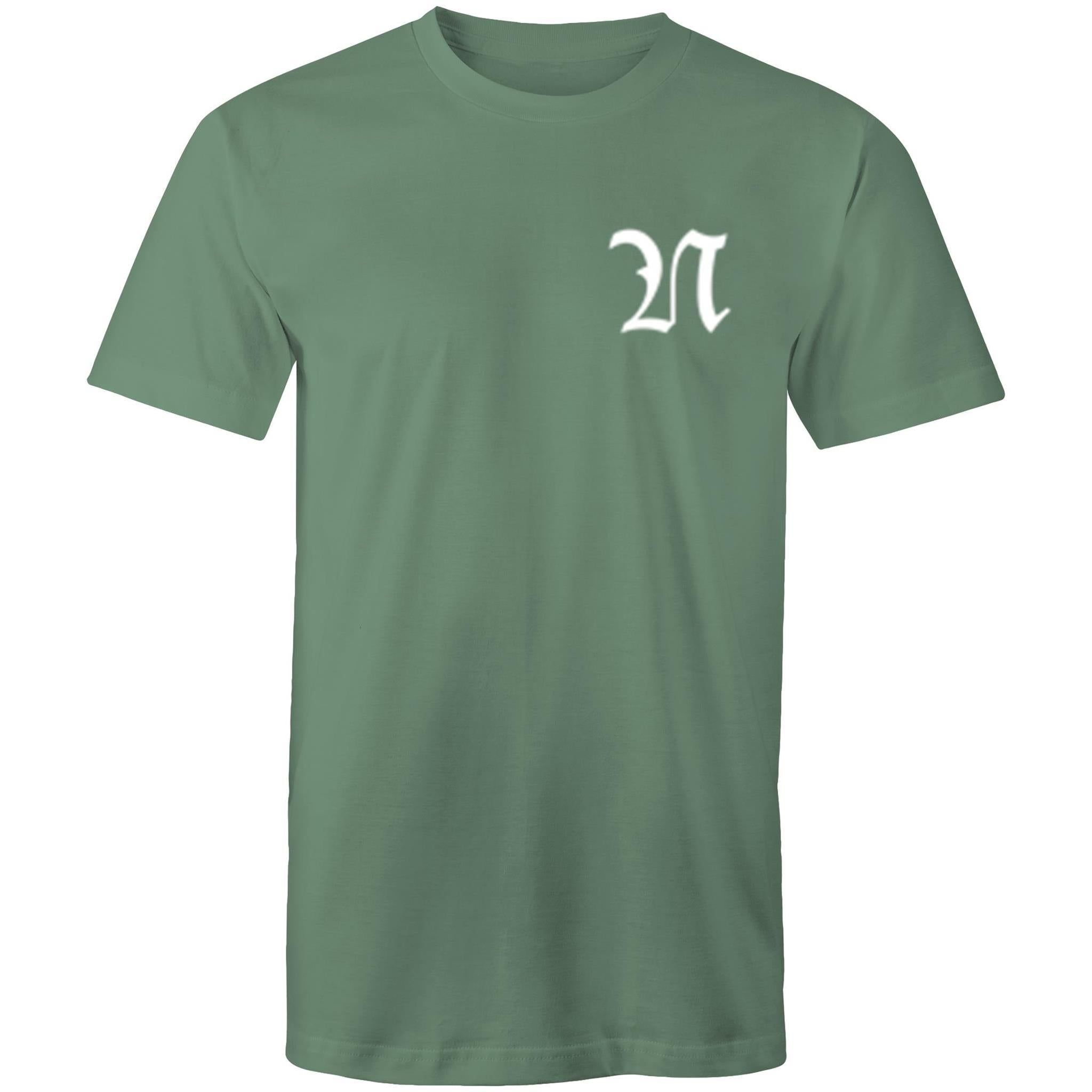 N - Colour Staple Mens T-Shirt - The Simple Selection