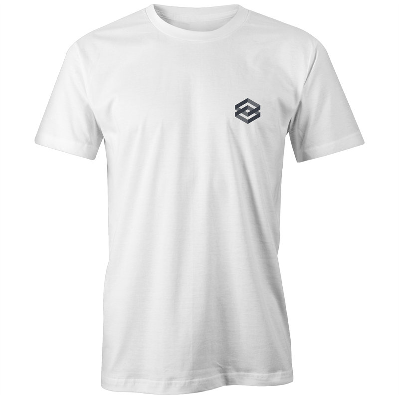 White Simple Classic T-Shirt - The Simple Selection
