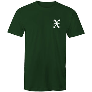 X - Colour Staple Mens T-Shirt - The Simple Selection