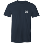 Yeah Baby Colour Mens T-Shirt - The Simple Selection