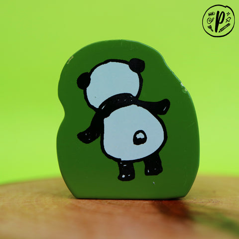 Kodomo no Kao Stamp: Back Panda