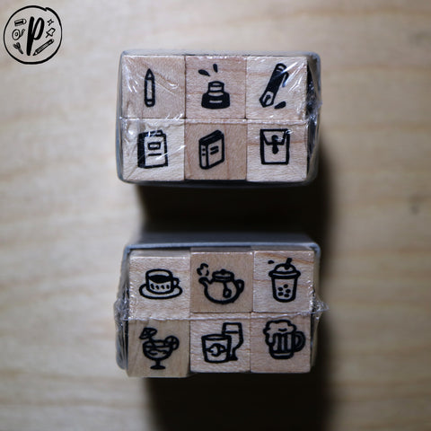 Plain Stationery: Piccolo Minimo Stamp