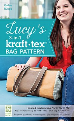 Lucy's 3 in 1 Kraft-tex Bag pattern