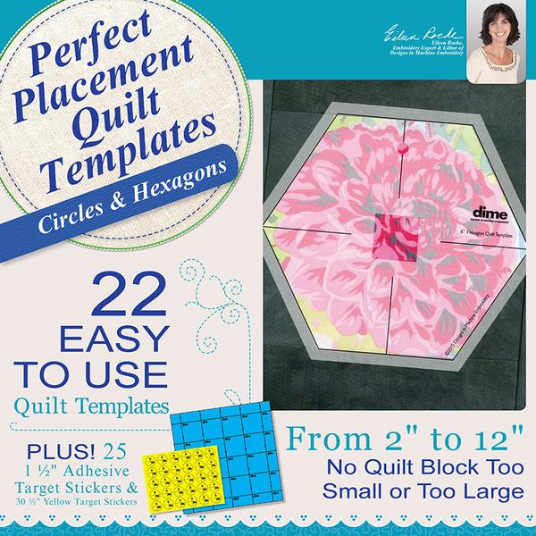 Perfect Placement Quilt: Circles & Hexagons