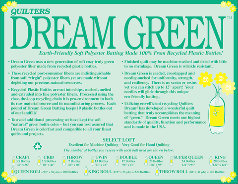 Dream Green Select batting