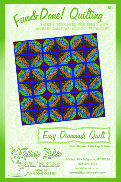 Fun & Done Quilt as You Go Designs