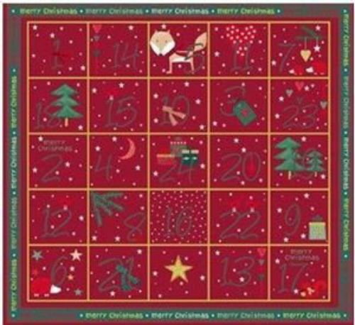Christmas for Friends Calendar panel