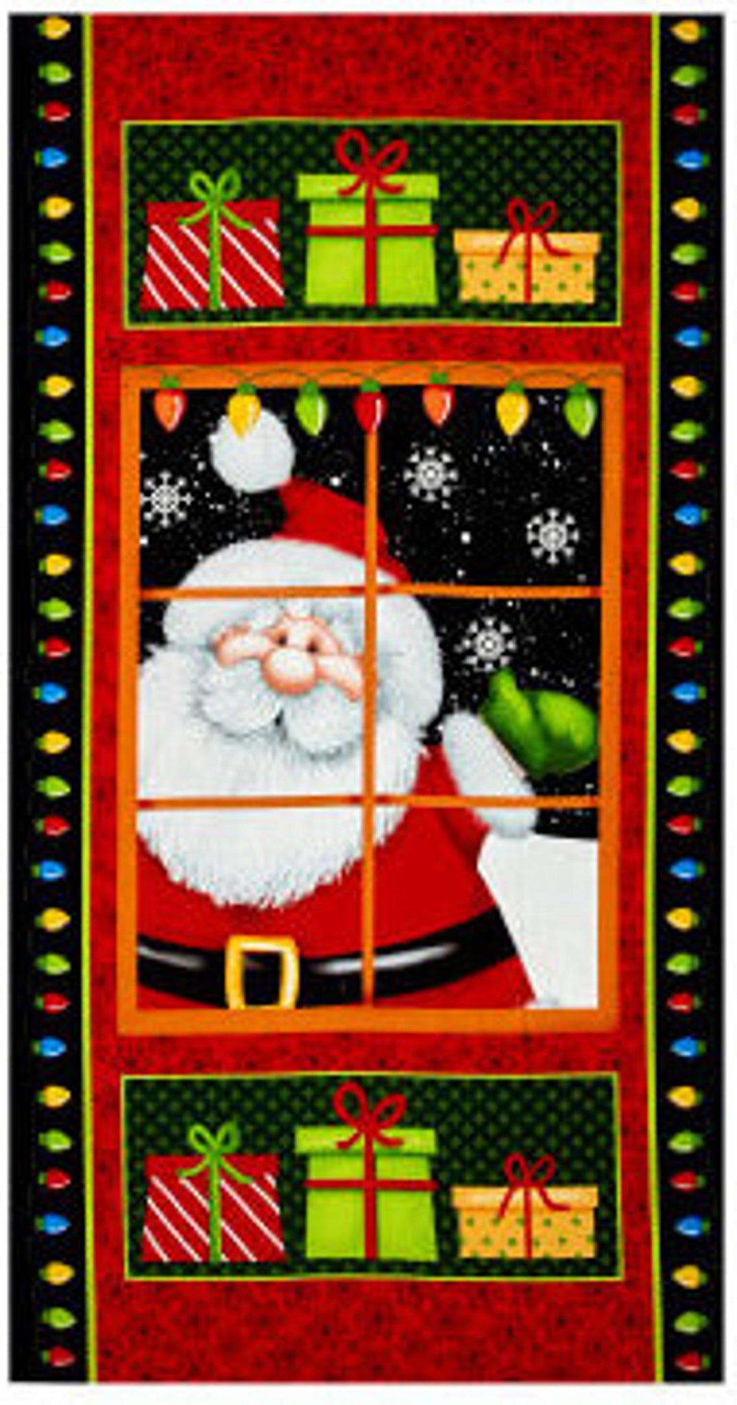 Jolly Ole' St. Nick panel