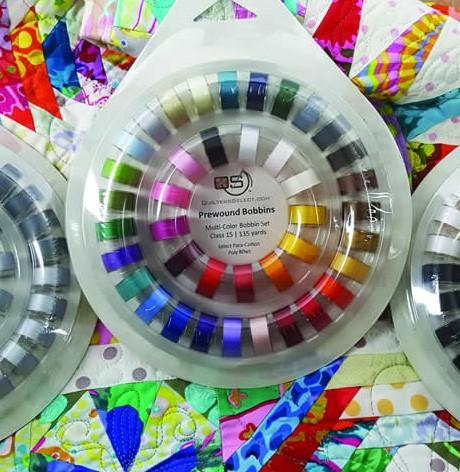 Quilters Select PreWound Bobbins and Saver