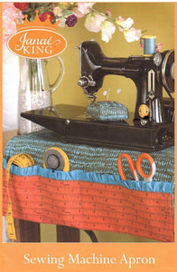 Sewing Machine Apron with Pincushion