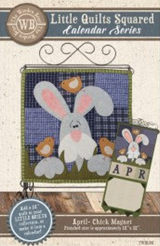Little Quilts Squared Calendar pattern collection