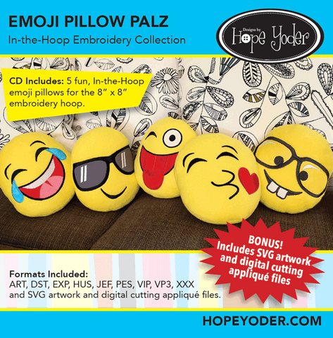 Emoji's Pillow Palz