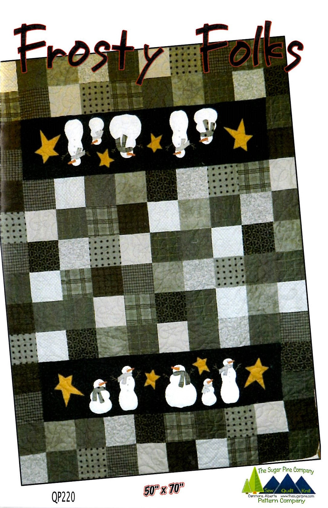 Frosty Folks pattern