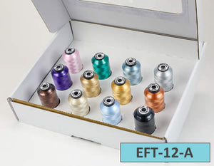 Embellish Flawless Thread Variety Pack--Pastels