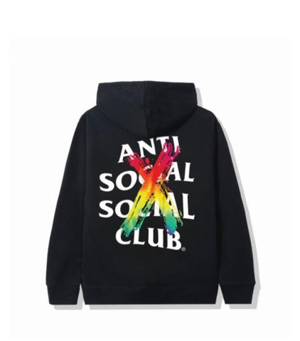 Anti social social club cancelled hoodie black