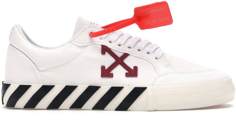 Off-white vulc low white violet SS20