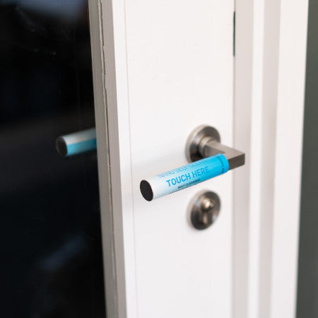 New Self Cleaning Antimicrobial Door Handle Wrap Small size 6.35cm x 10.16cm - Single - Nanoselfclean™