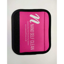Load image into Gallery viewer, Antimicrobial Coated Luggage Handle Grip Wrap Neoprene 15cm x 13cm ( Pink) - Nanoselfclean™