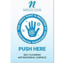 Load image into Gallery viewer, New Self Cleaning Antimicrobial Door Push Pad (Size 15.24cm x 22.86cm) - Nanoselfclean™