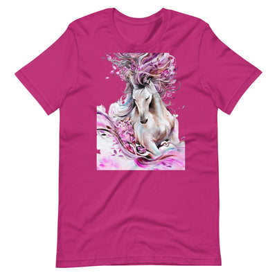 Pink Runner Short-Sleeve Unisex T-Shirt