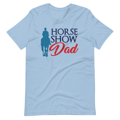 Horse Show Dad Short-Sleeve Unisex T-Shirt