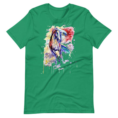 Wild And Colorful Rust Short-Sleeve Unisex T-Shirt