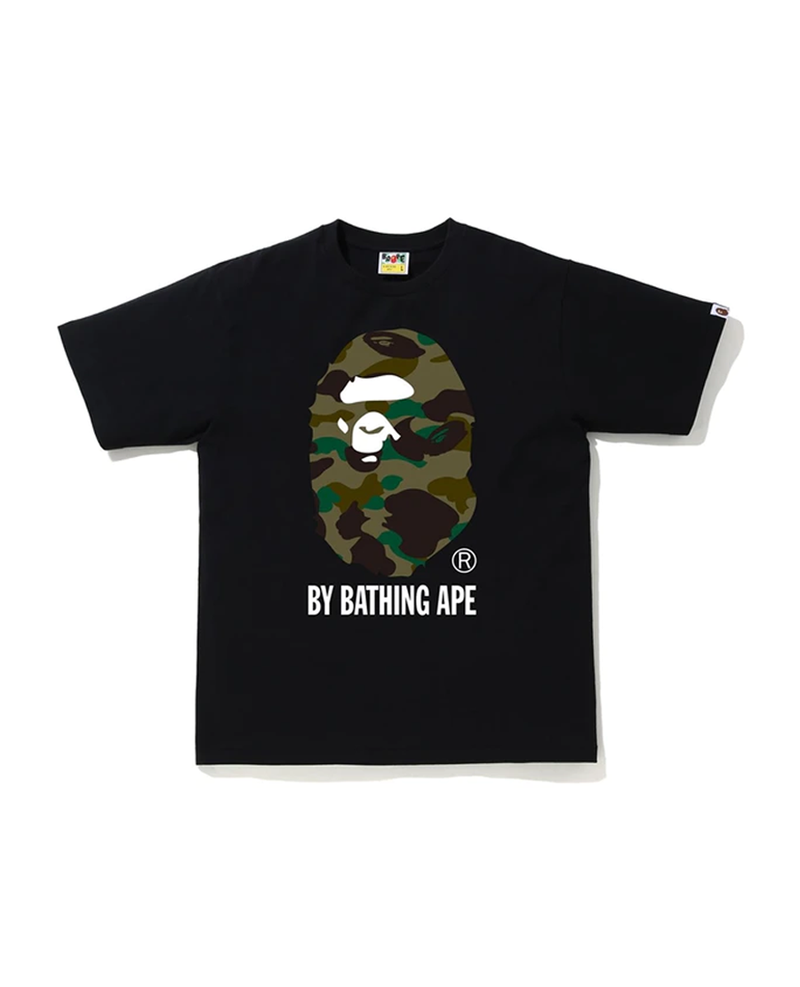 BAPE 1st Camo By Bathing Ape Tee Black/Green