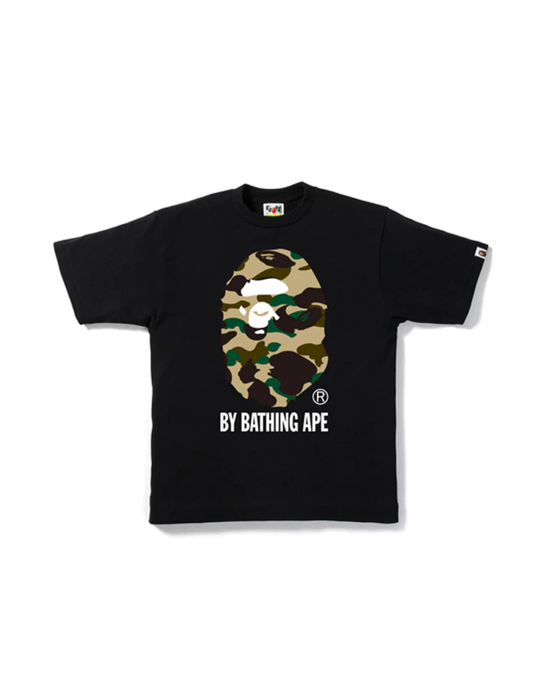 BAPE 1st Camo By Bathing Tee Black/Camo