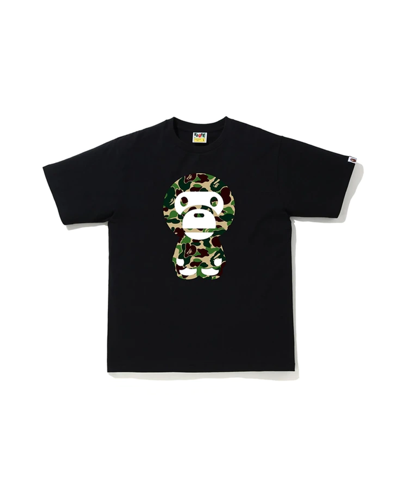 BAPE ABC Camo Big Baby Milo Tee Black/Green