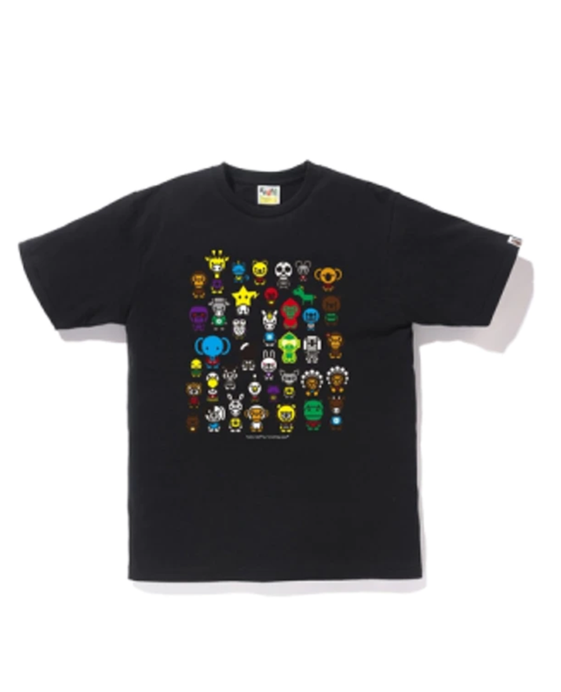 BAPE A To Z Tee Black