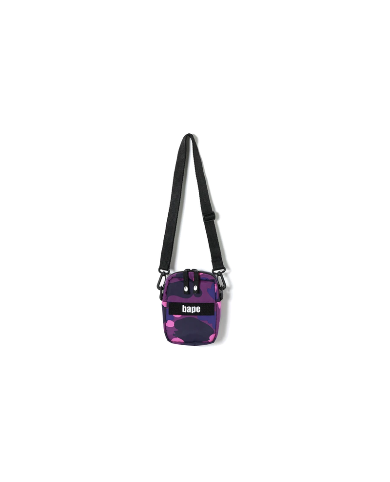 BAPE Color Camo Military Shoulder Bag Purple