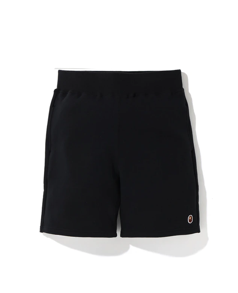 BAPE One Point Sweat Shorts Black/Green