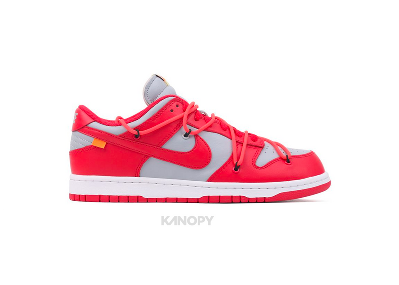 Nike Dunk Low LTHR/OW University Red