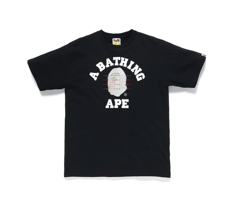 Tee Shirt - BAPE -Pusher Tee Black