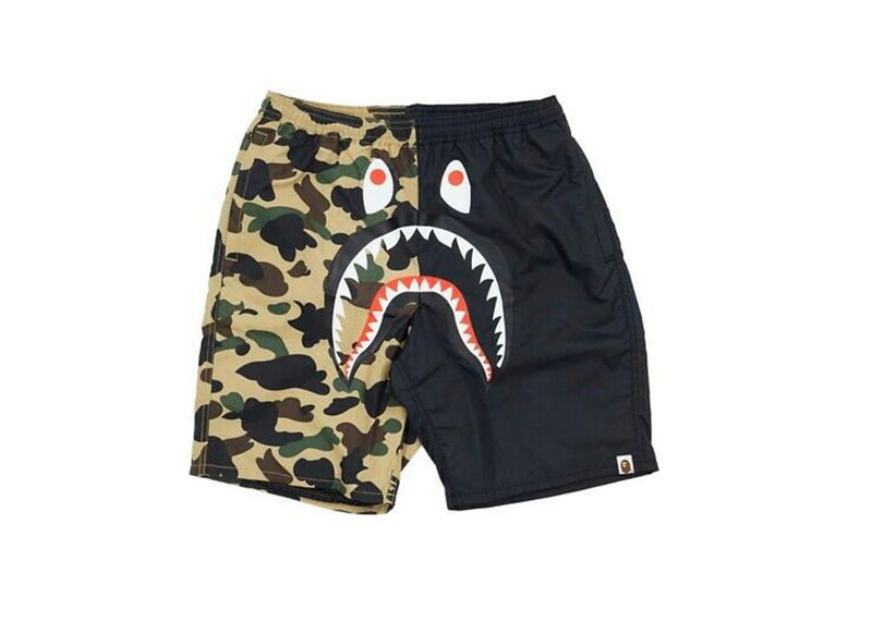 Bape camo shark Shorts