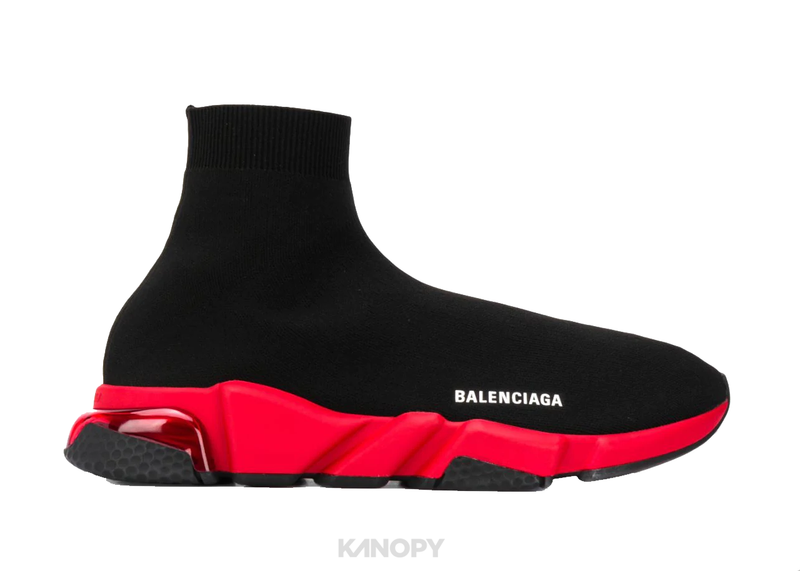 Balenciaga Speed Clearsole Red/White