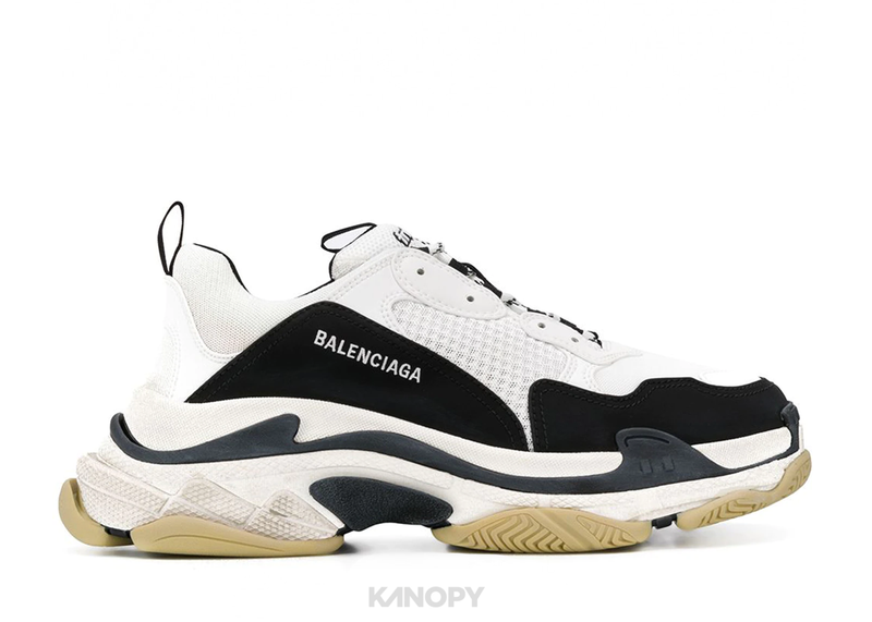 Balenciaga Triple S Black White