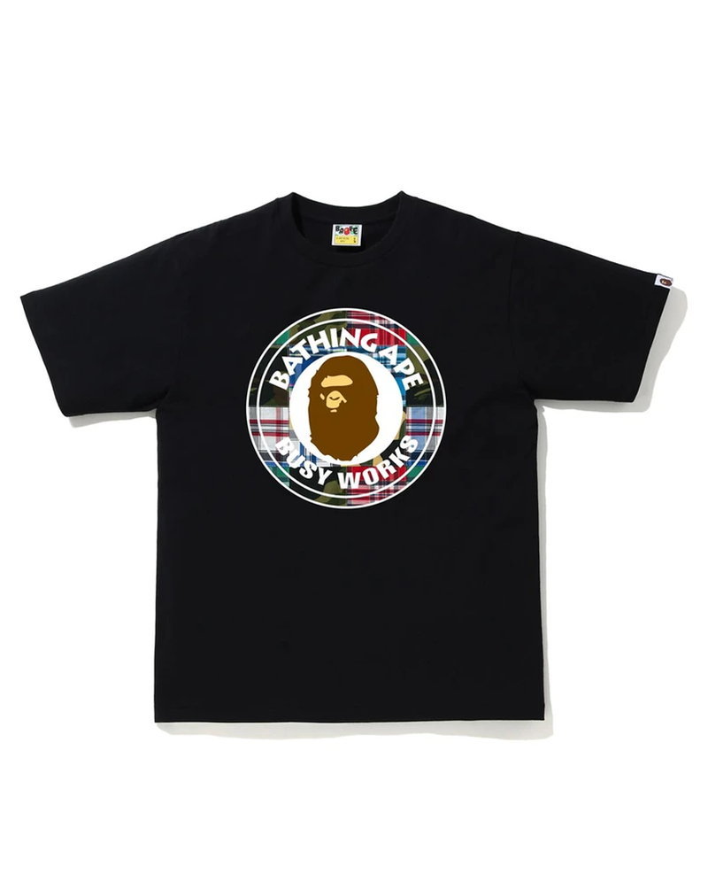 Bape patchworks busy works tee