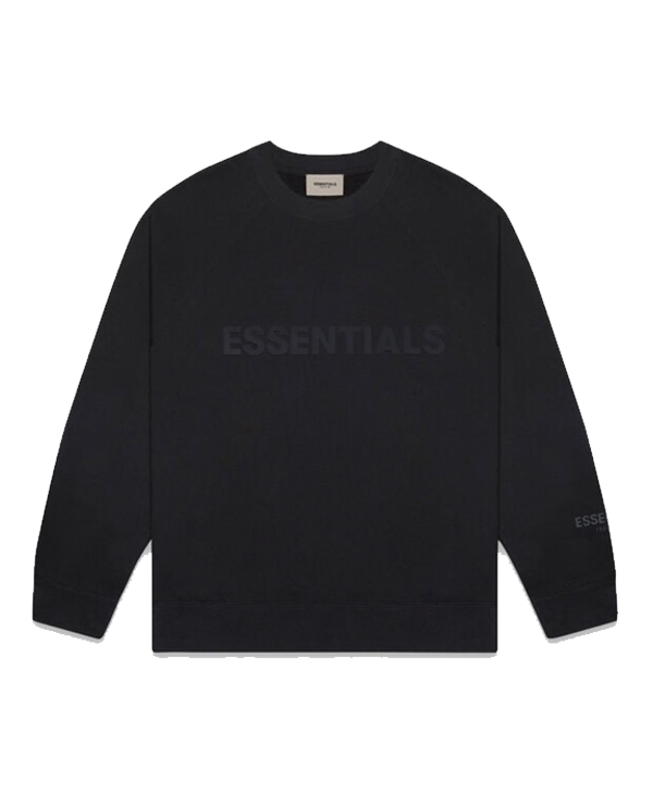 FEAR OF GOD FOG Essentials Crew Neck Sweatshirt Black