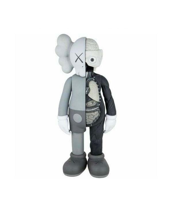 KAWS Companion Flayed Open Edition Vinyl Figure Grey
