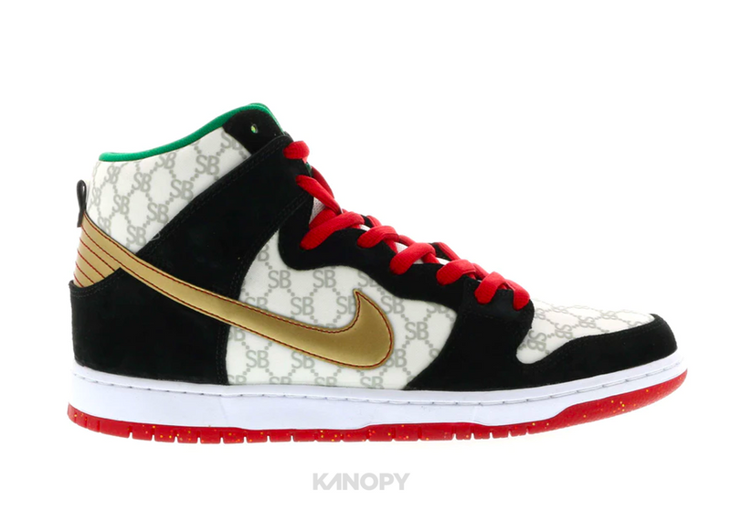 "Nike Dunk SB High Black Sheep ""Paid in Full"""