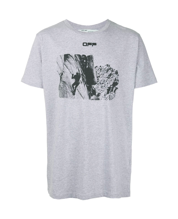Off-White Climb Print T-Shirt Ss20
