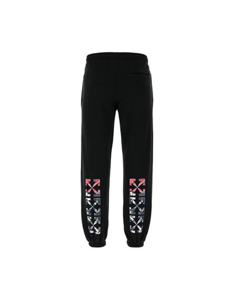 Off-White Men's Black Cotton Joggers