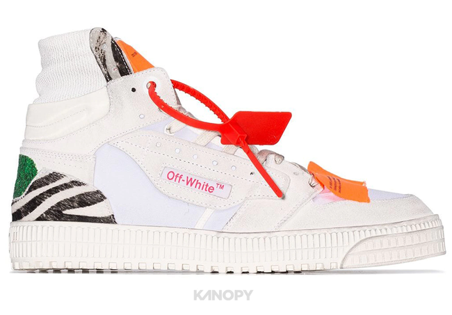 Off-White Off Court High Top Zebra