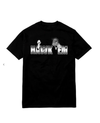 Pop Smoke x Vlone Hawk Em' Tee Black