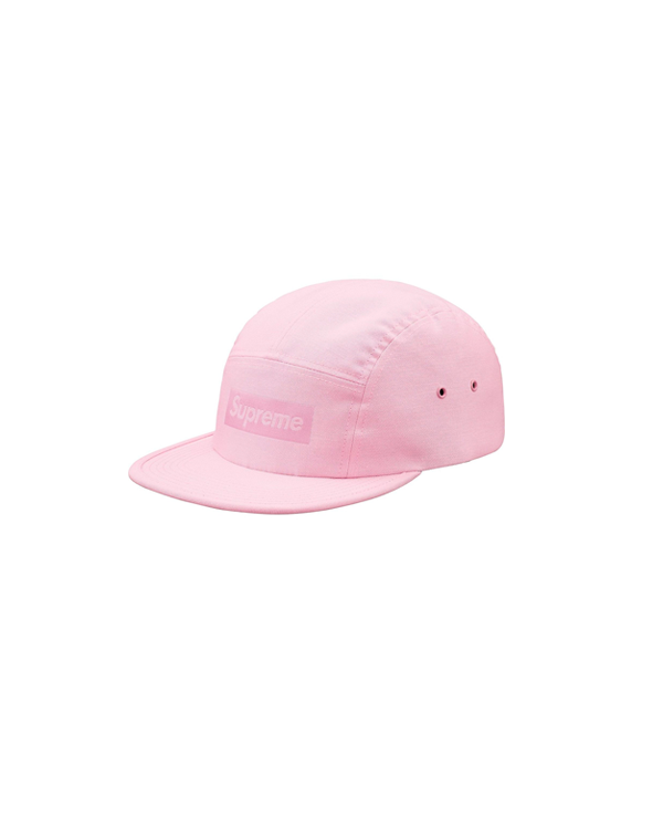 Supreme Jacquard Box Logo Camp Cap Light Pink