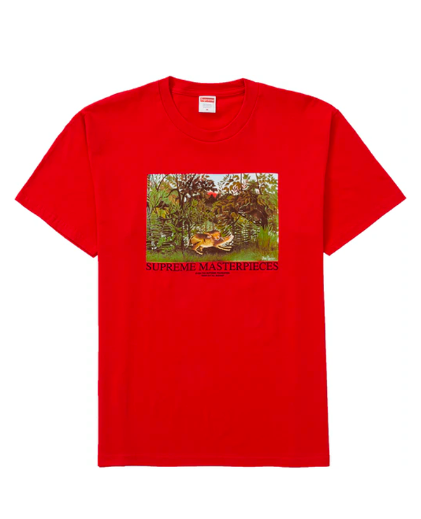 Supreme Masterpieces Tee Red