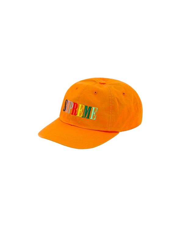 Supreme Multi Color Logo 6-Panel- Mustard